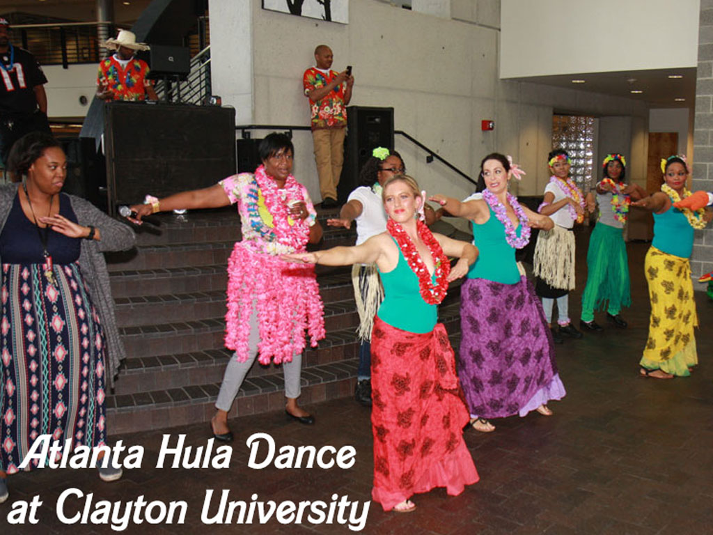 Atlanta Hula Dance at Clayton State University